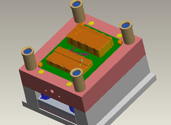 3D Design of Injection Mould