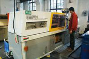 Injection moulding machine operation