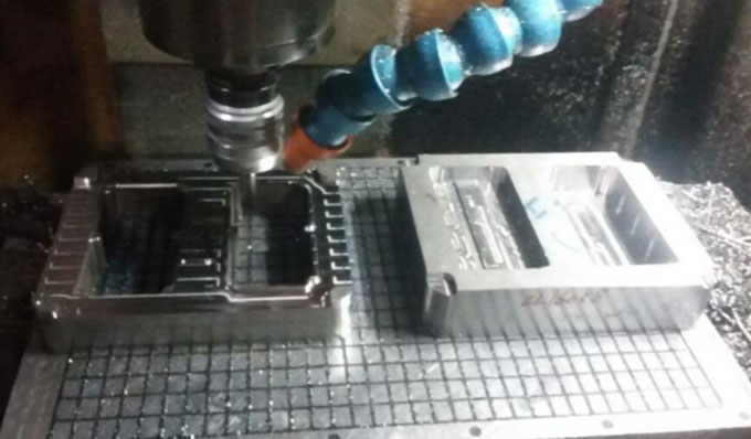 Rough or Finish Machining of Mould
