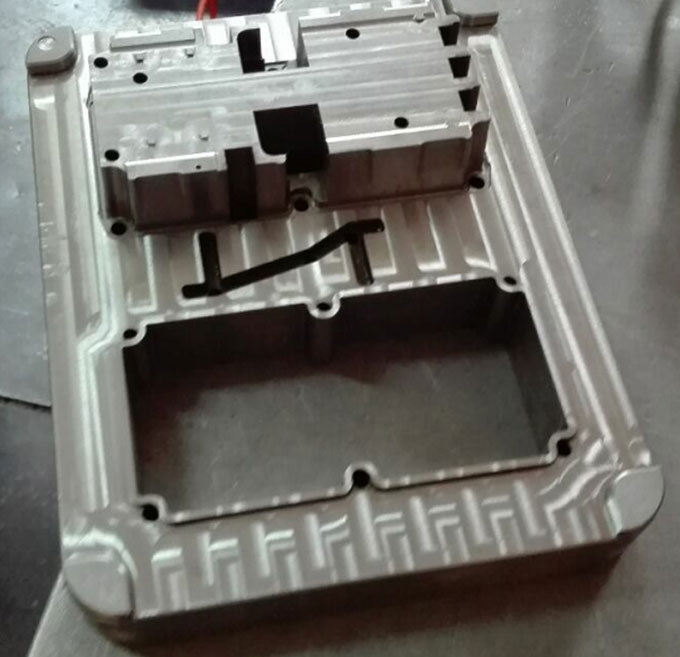 Rough or Finish Machining of Mould3
